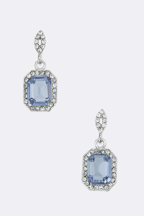 Crystal Drop Fashion Earrings
