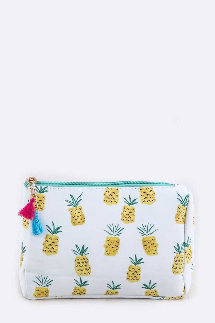 Pineapple Pattern Pouch