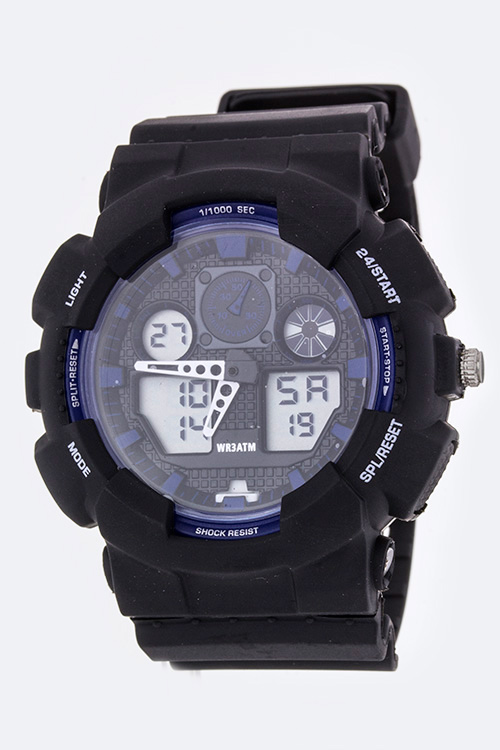 Multi Functions Shock Resistant Sports Watch