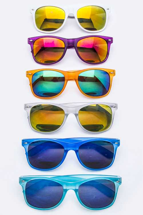 Fashion Wayfarer Sunglasses