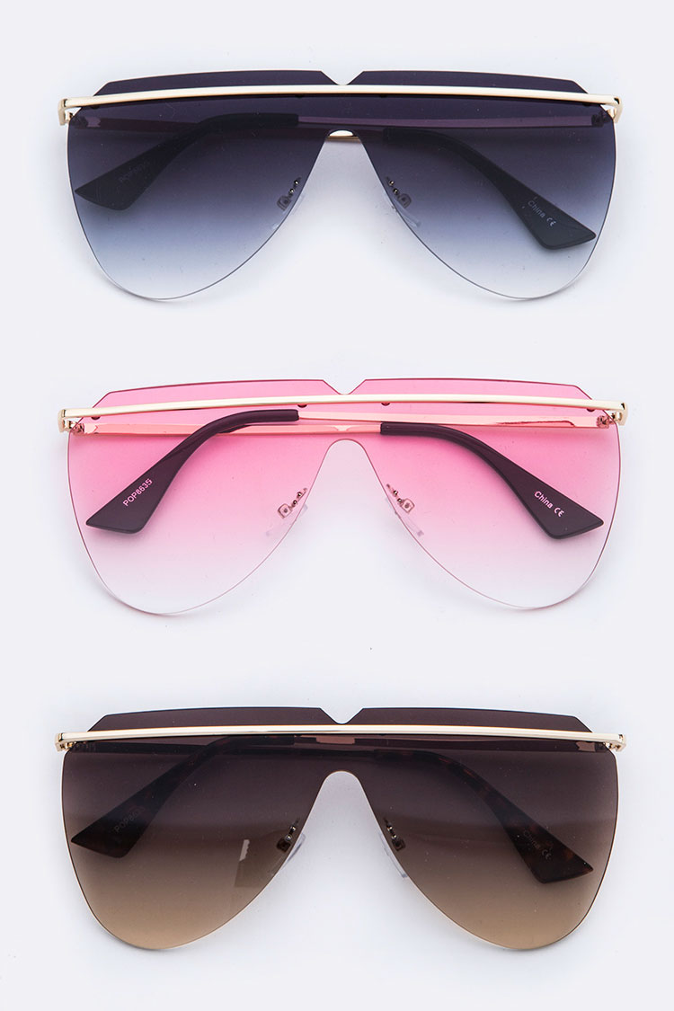 Iconic Unilens Top Bar Sun Glasses