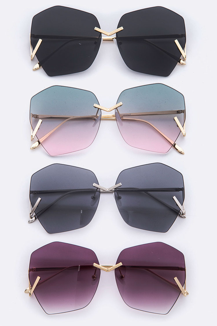 Iconic Geometric Fashion Sunglasses