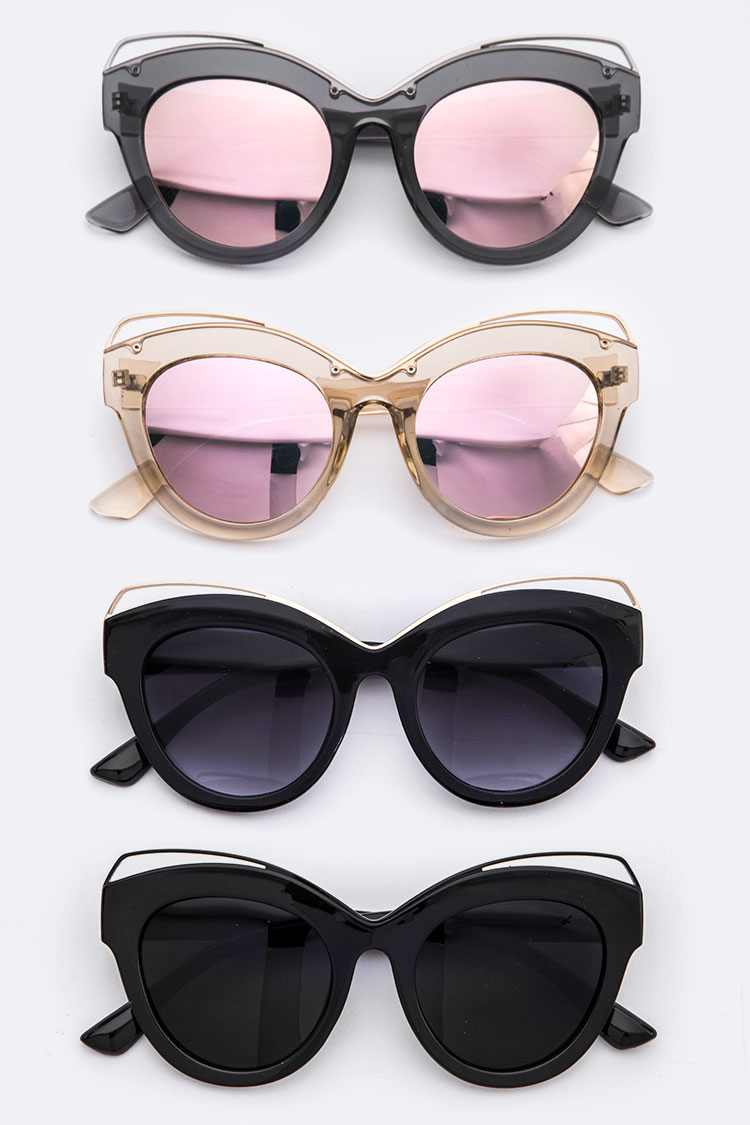 Wired Cateye Fashion Sunglasses