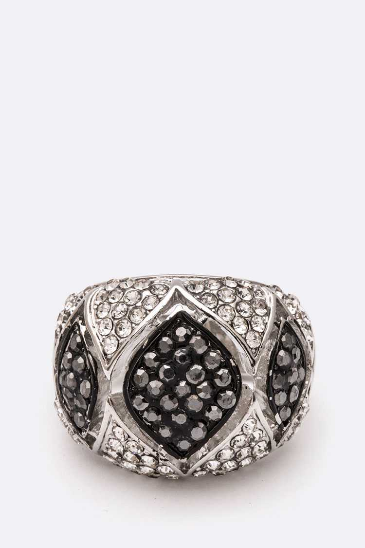Crystal Iconic Stretch Ring