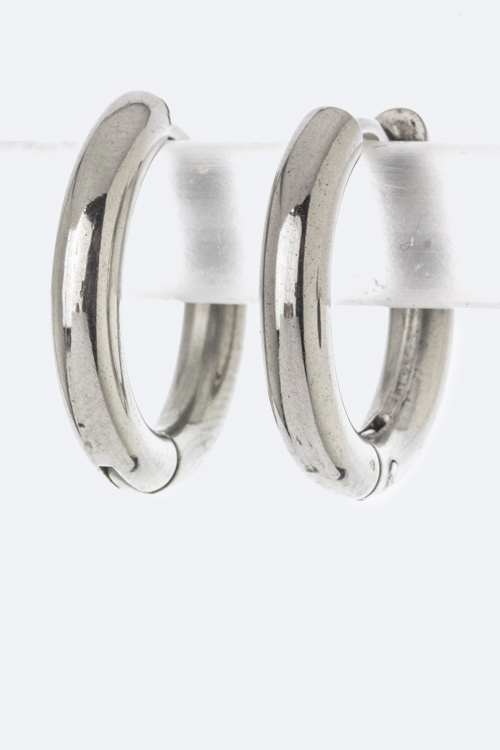 Petite Classic Hoop Earrings