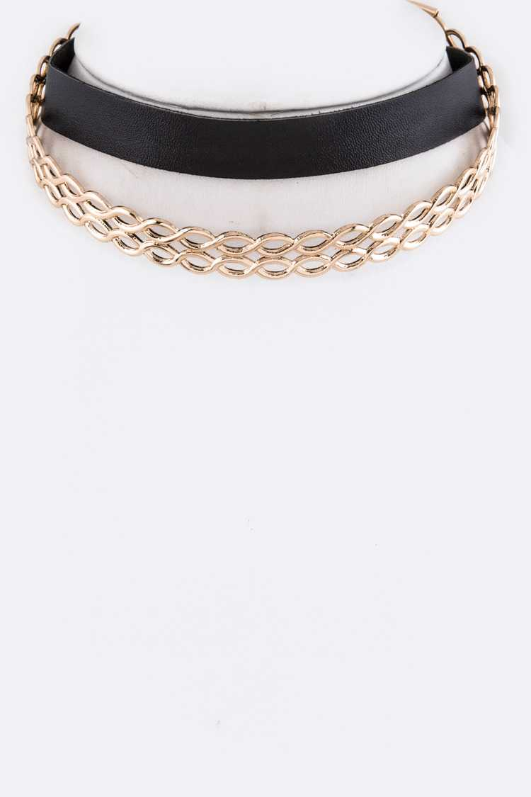 2 IN 1 Choker Set