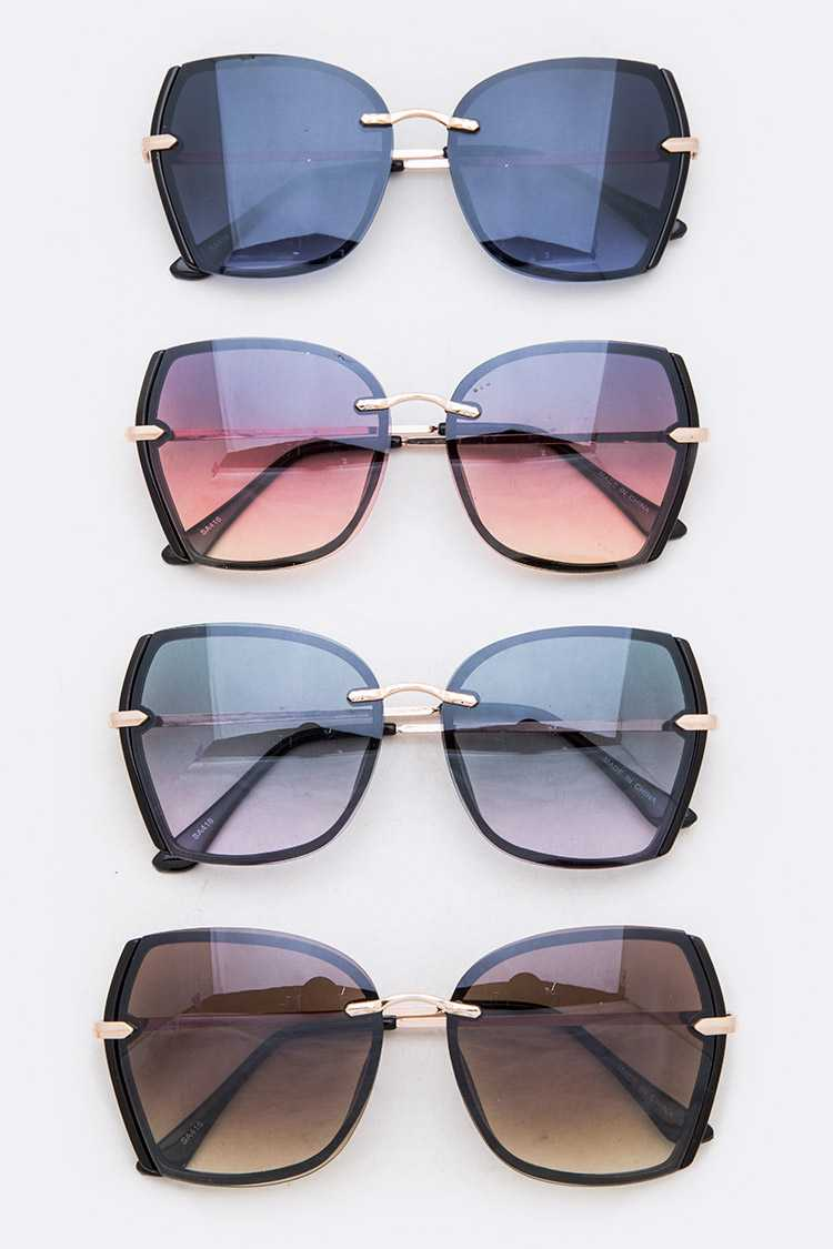 Iconic Fashion Butterfly Sunglasses Set