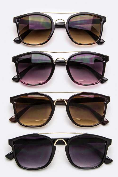 Iconic Frame Fashion Sunglasses