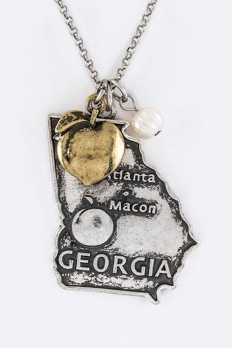 GEORGIA Mix Charms Necklace Set
