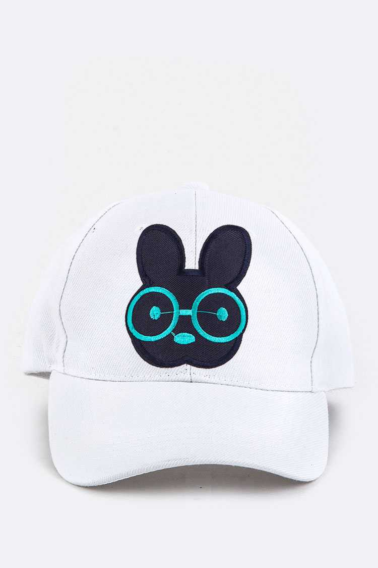 Bunny Embroidery Cap