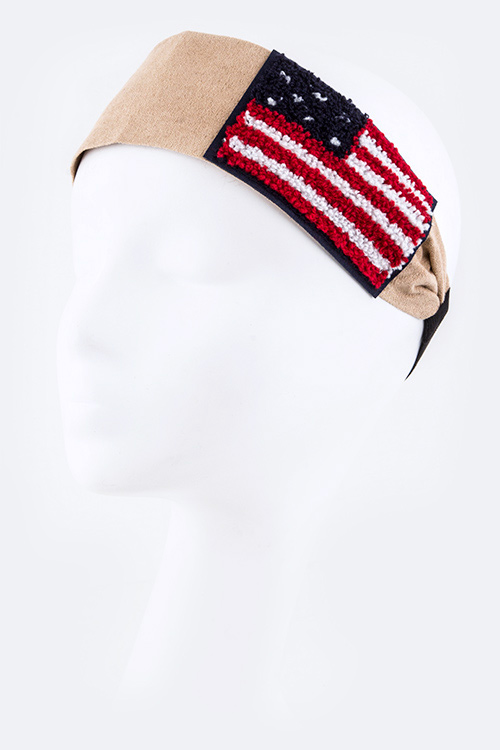 American Flag Iconic Stretch Headband