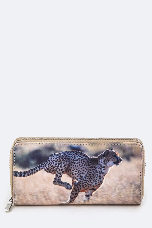 Cheetah Print Wallet