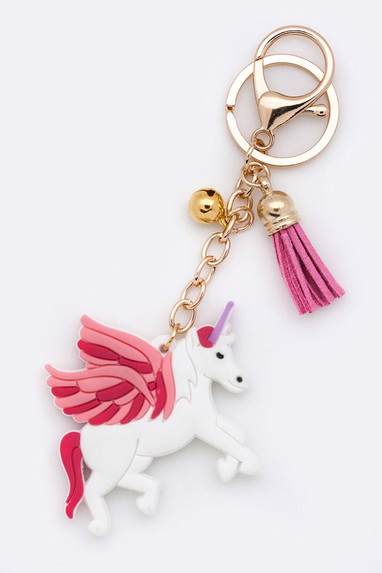 Jelly Unicorn Key Charm