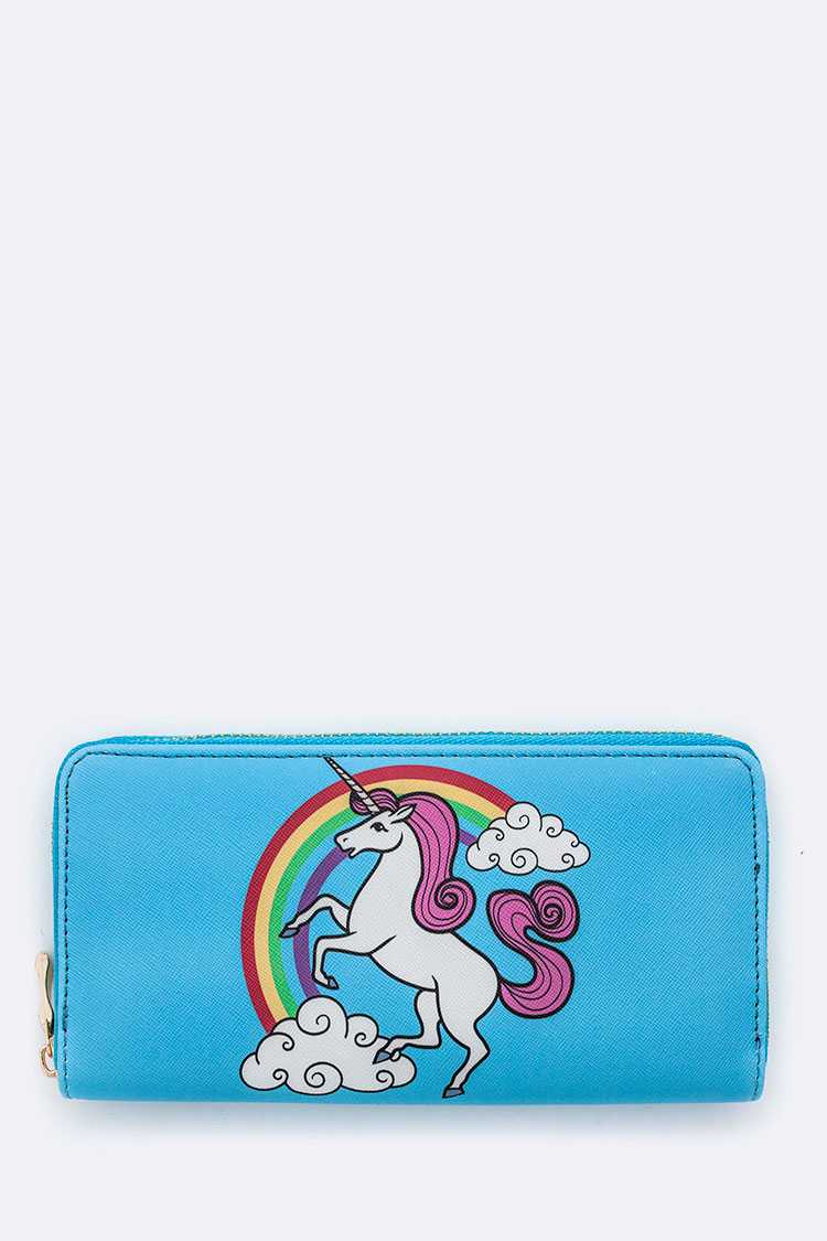 Unicorn Print Wallet