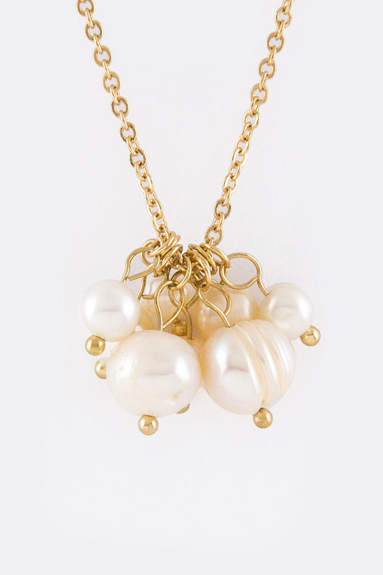 Pearls Long Necklace