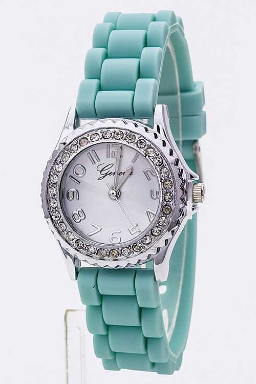 Crystal Dial Small Jelly Watch