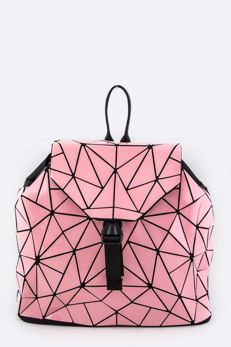 Geometric Iconic Backpack