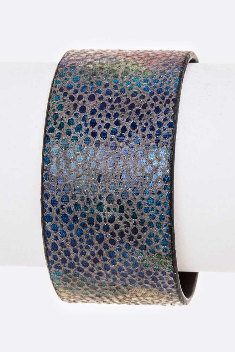 Mix Color Texture Adjustable Cuff