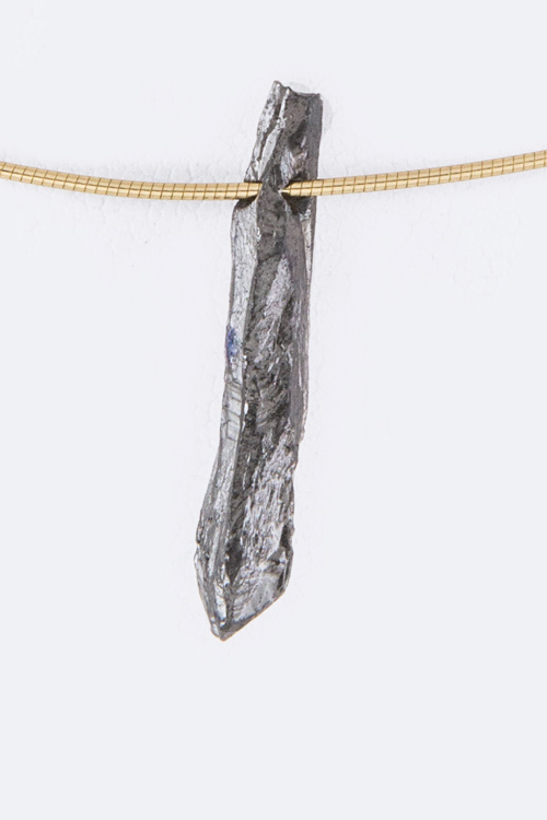 Petite Quartz Omega Chain Necklace