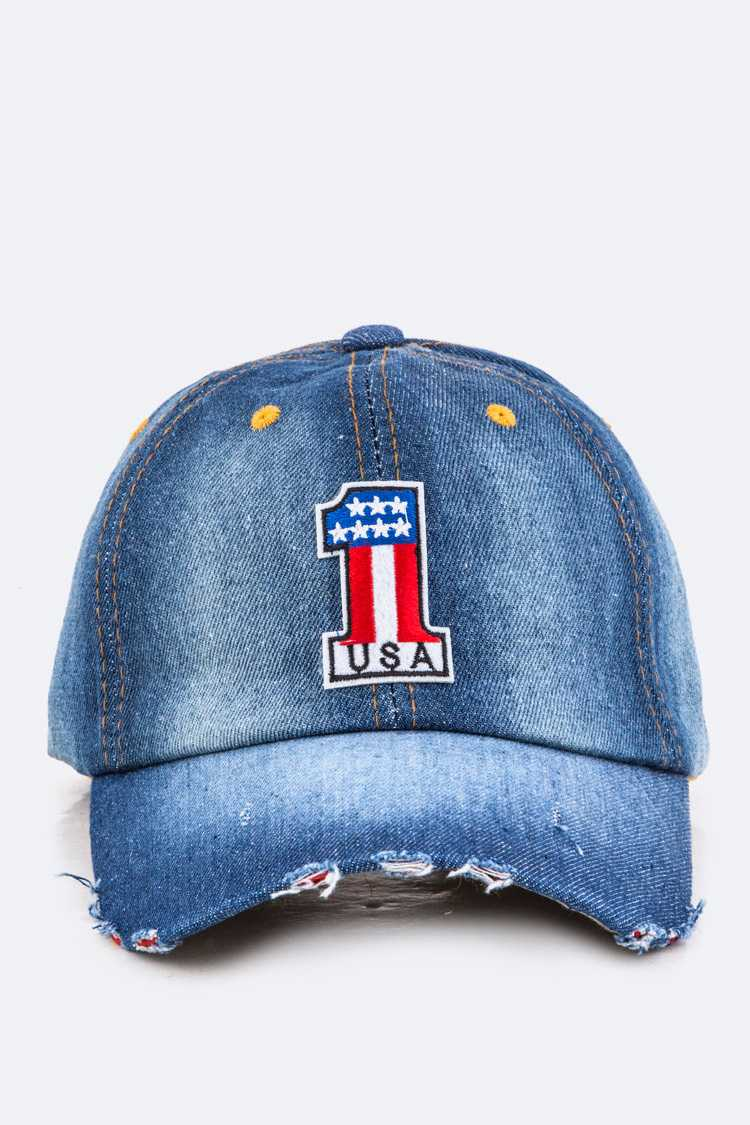 US No.1 Denim Cap