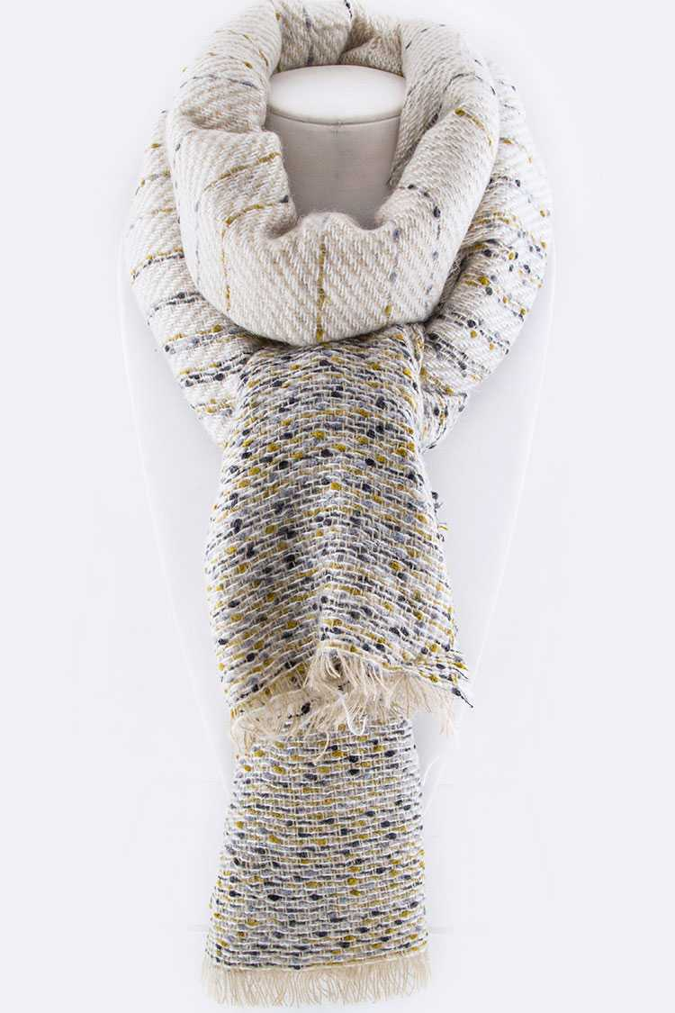 Mix Knit Scarf