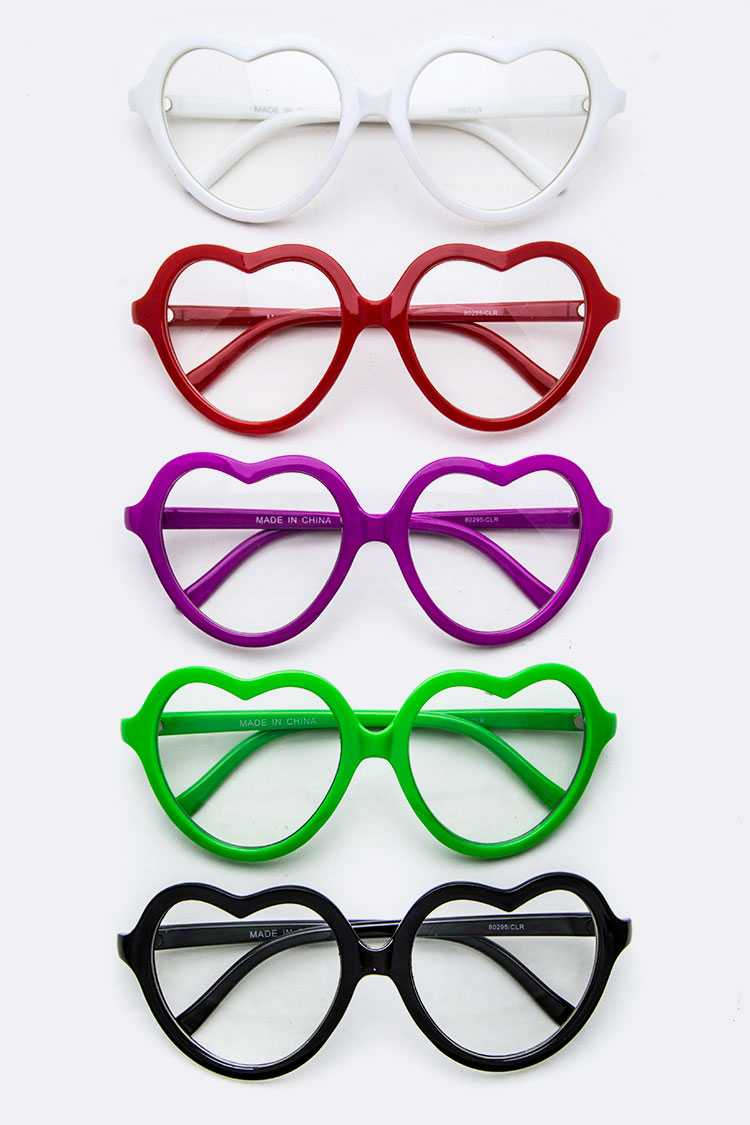 Heart Frame Optical Glasses
