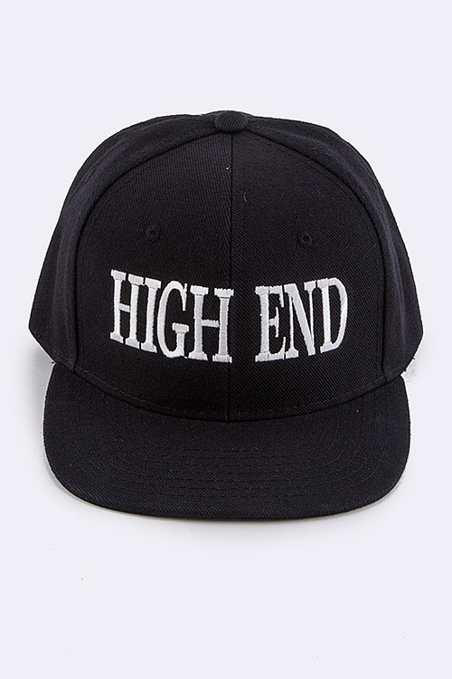 HIGH END Iconic Embroidered Fashion Cap