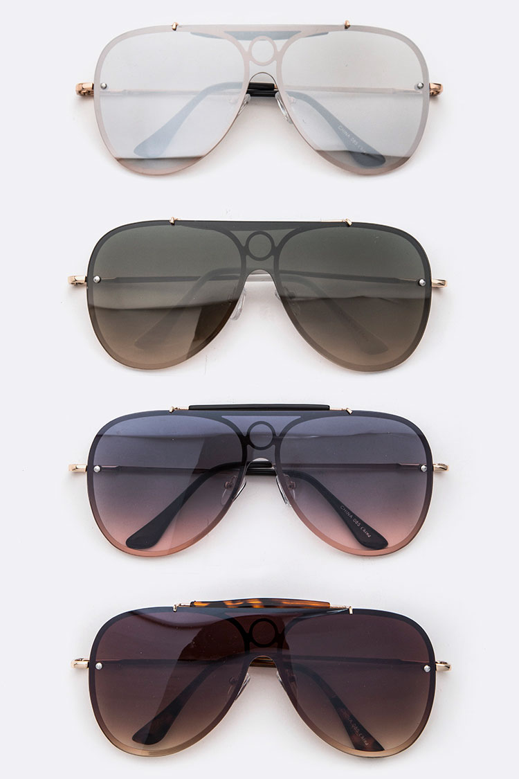Aviator Iconic Unilens Sunglasses