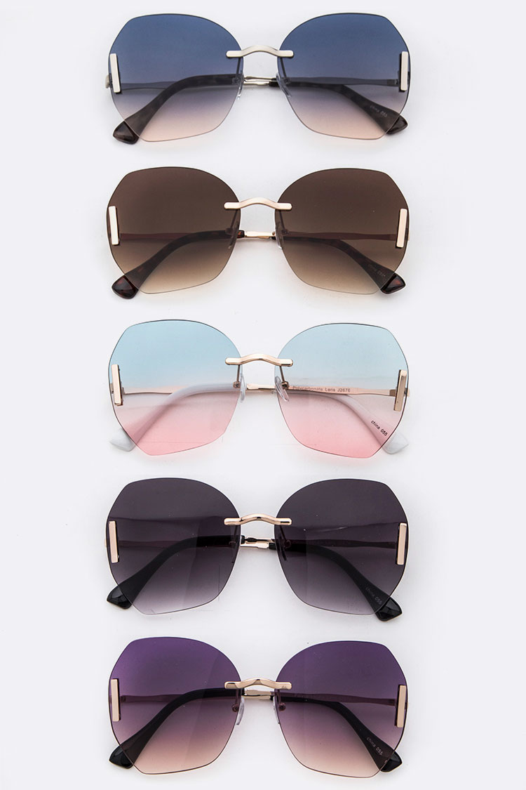 Iconic Oversized Fashion Sunglases