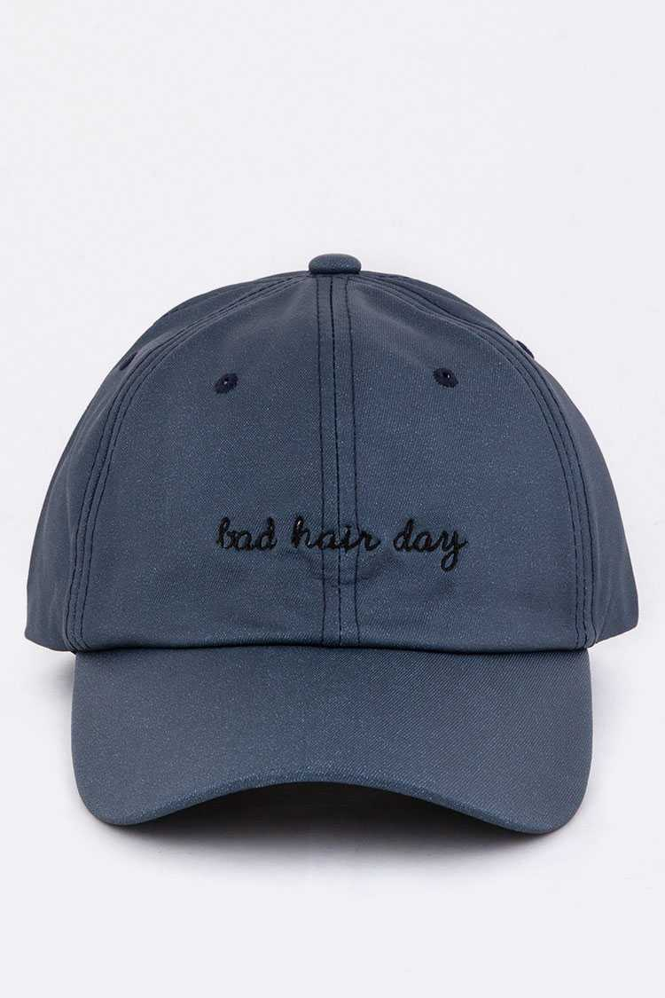 Bad Hair Day Embroidery Cap