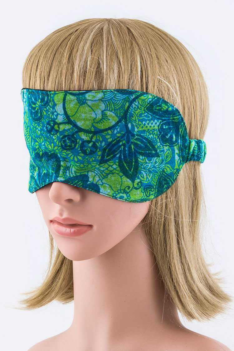 Floral Print Sleeping Mask