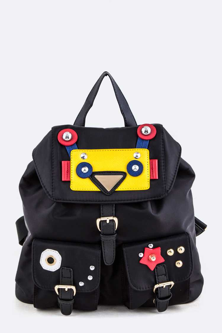 Studs Decoration Backpack