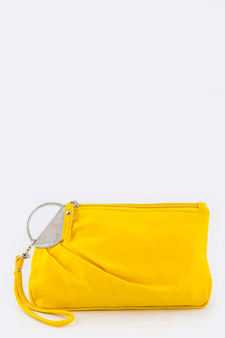Color Wristlet Pouch