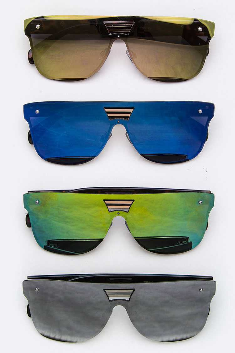 Mirror Tinted Unilens Sunglasses