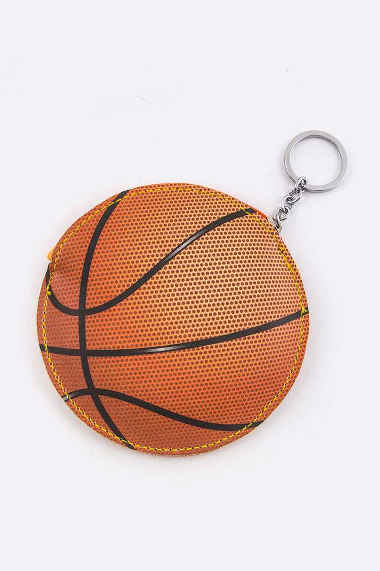 Basketball Coin Pouch