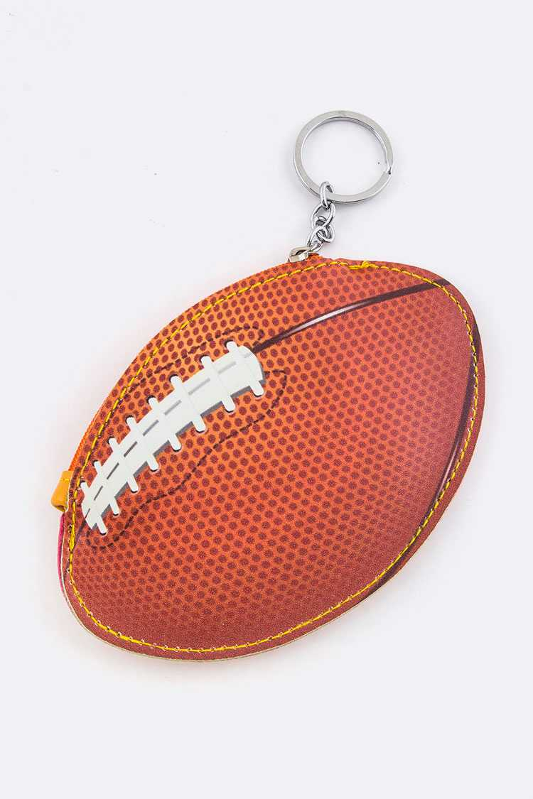 Football Coin Pouch