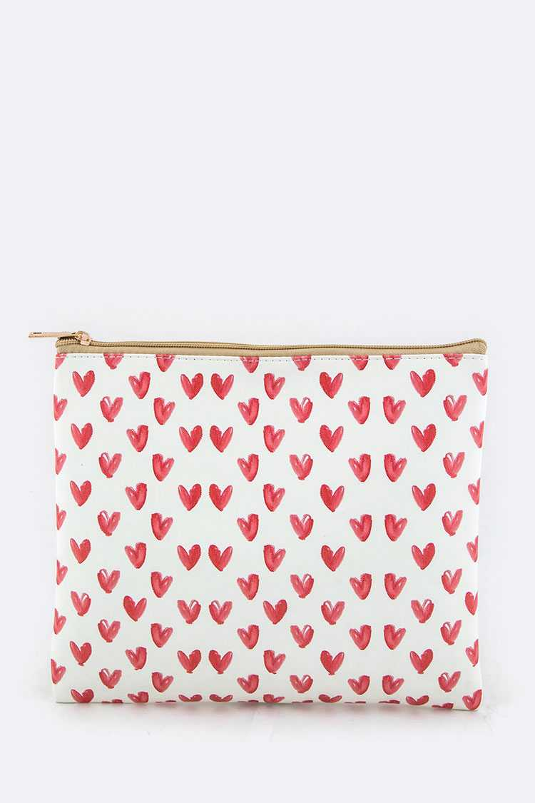 Hearts Fashion Pouch