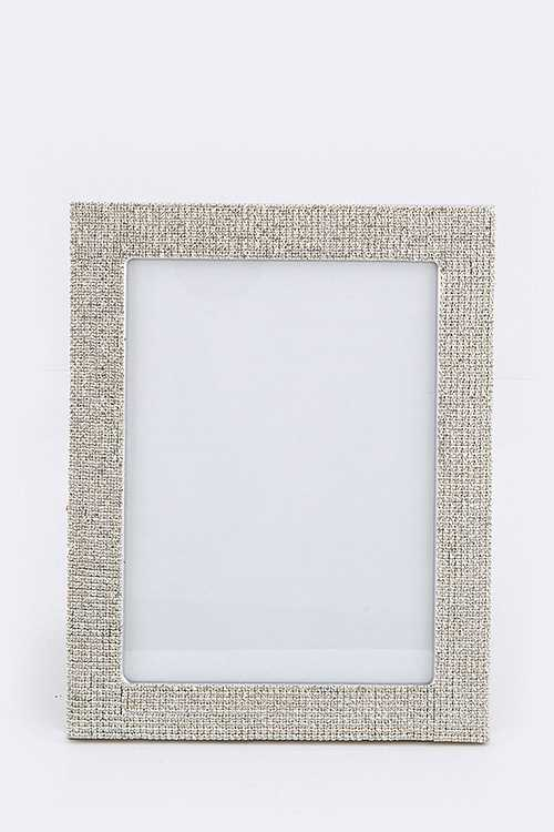 Bling Out Large Crystal Picture Frame