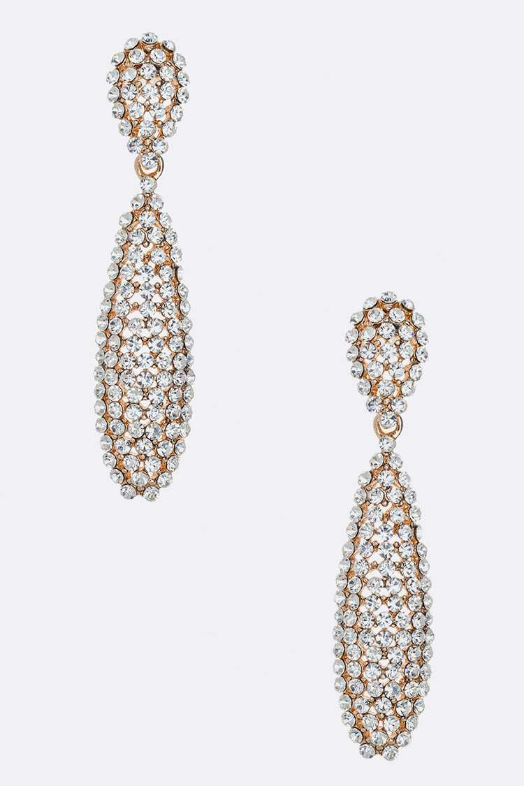 Crystal Cluster Iconic Earrings