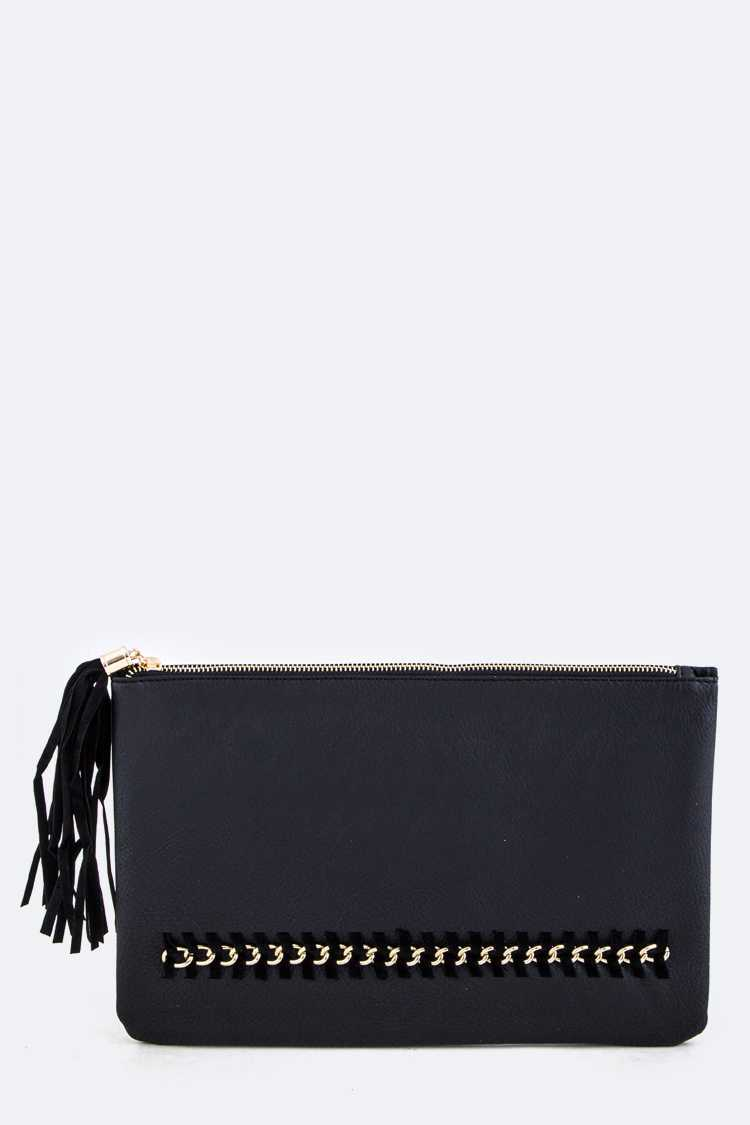 Laced Chain Soft Clutch