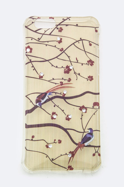Birds On Branch Iphone 6S Silicon Case