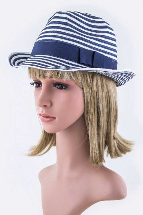 Stripes Layer Fashion Fedora