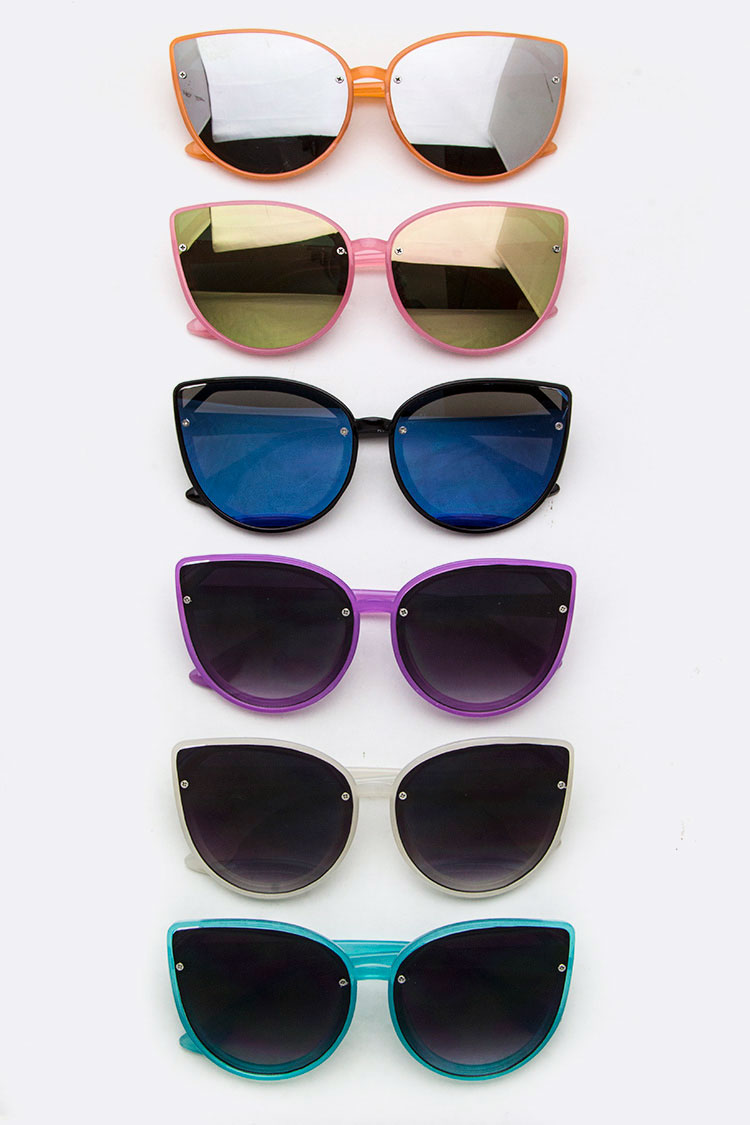 Kids Size Cat Eye Sunglasses