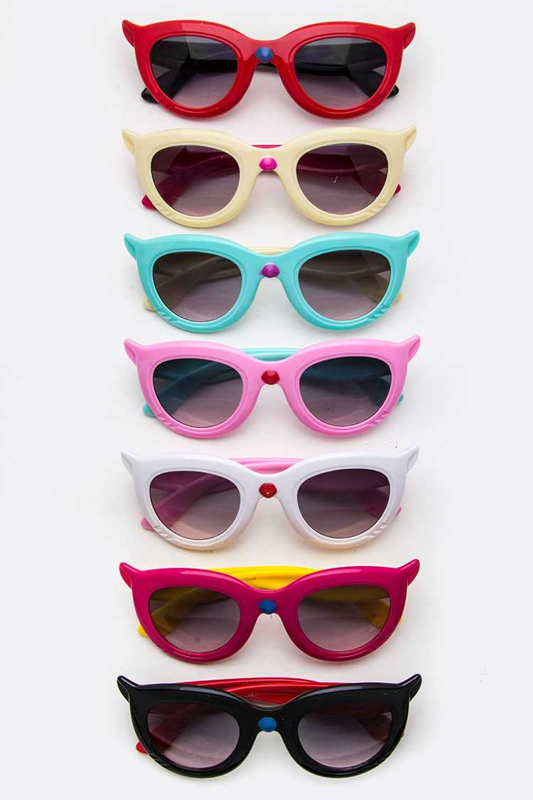 Kids Size Mix Tone Iconic Sunglasses