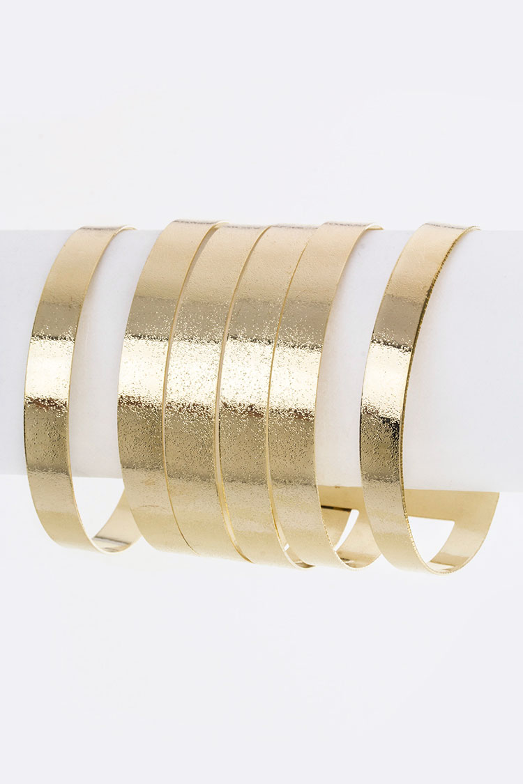 Layer Metal Cuff