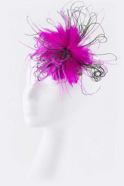 Feather Statement Hair Clip