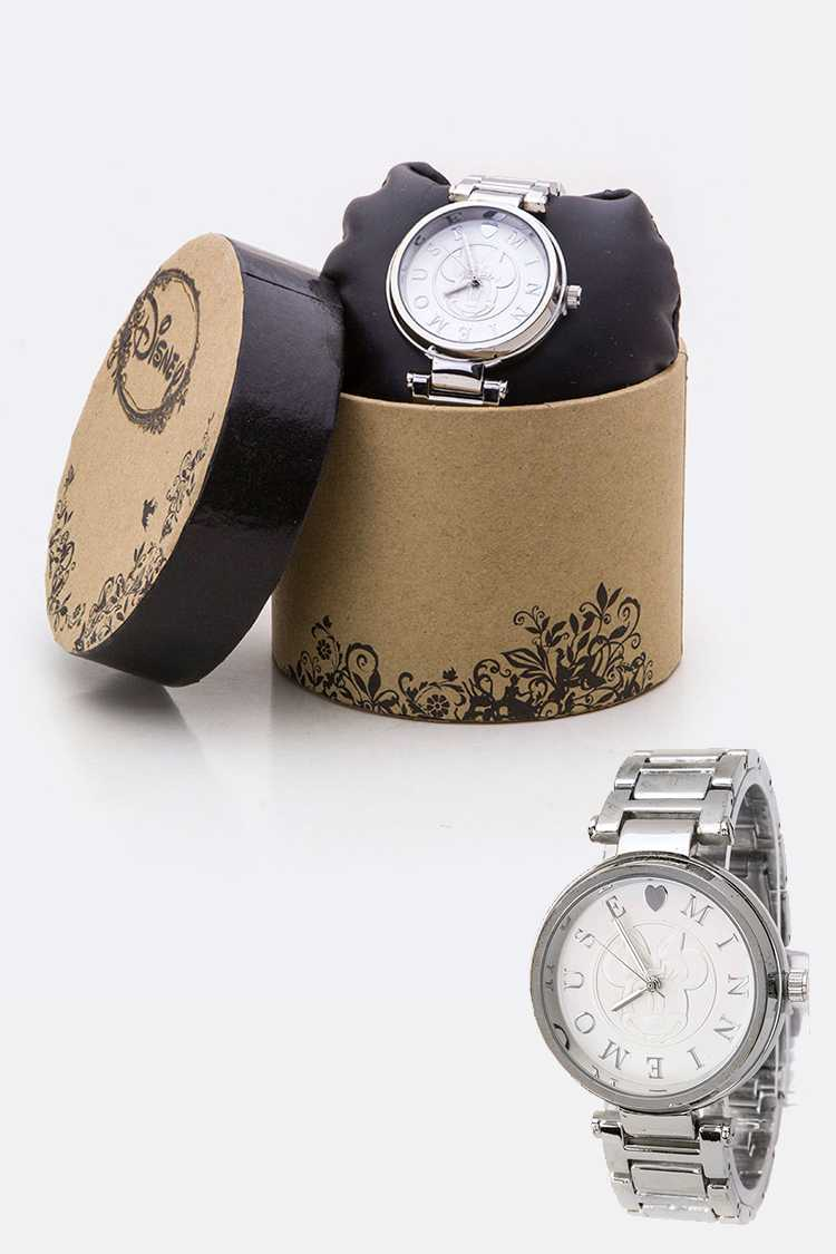 Embossed Minnie Dials Watch