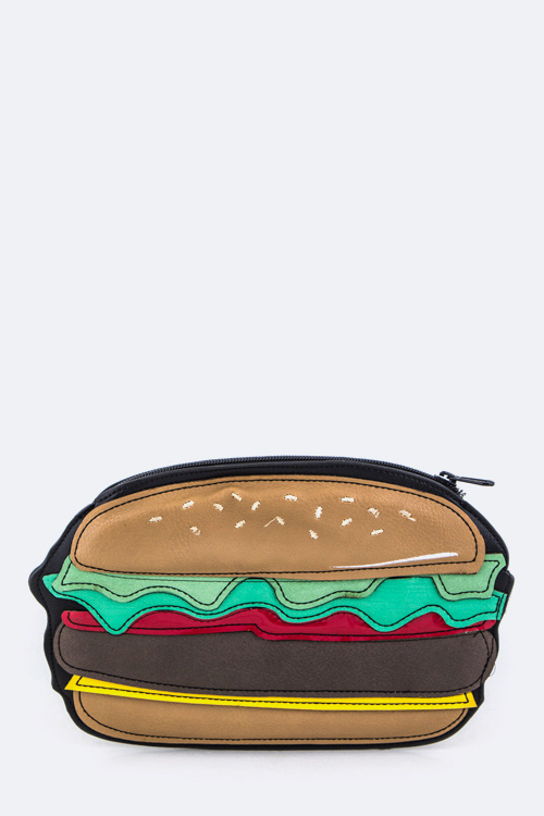 Hamburger Mini Pouch