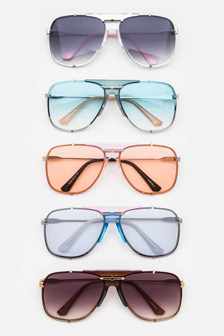 Aviator Light Tint Sunglasses Set