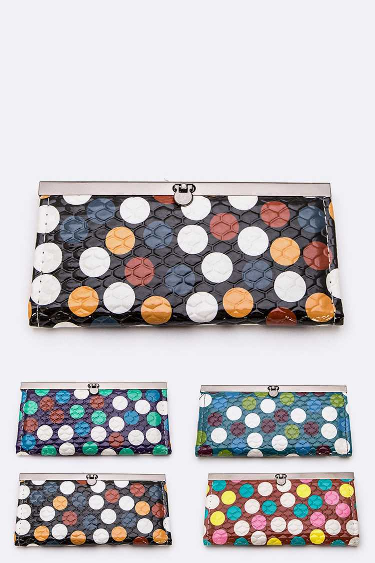 Mix Printed Wallet Set